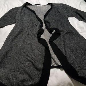 Black & Gray Cardigan